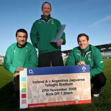 Get your ticket for Ireland 'A' v Argentina Jaguares in Tallaght