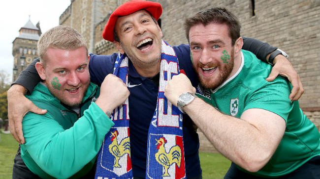 FFR Notice For Ireland Supporters Travelling To Paris