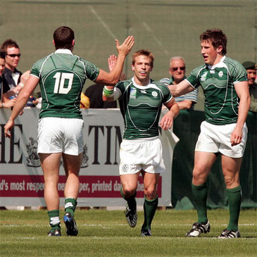 Ireland competed in the 2009 Rugby World Cup Sevens in Dubai