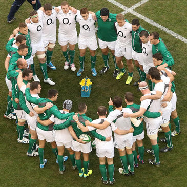 The Ireland squad