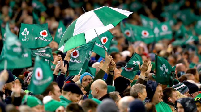 Match Day Support The Key To Irish Rugby Remaining Competitive