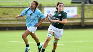 Ireland Under-18 Girls Win UK School Games Rugby 7s Title, Loughborough University, England, September 1-2, 2017