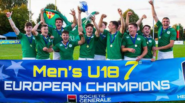 Ireland Under-18 Men's Sevens Squad Selected For European Championship