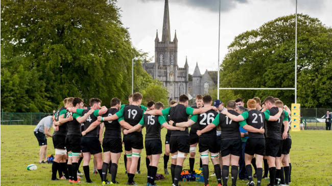 Irish Rugby TV: Team Building In Birr For Ireland U-20s