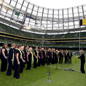 The members of 'Ireland Unlimited'
