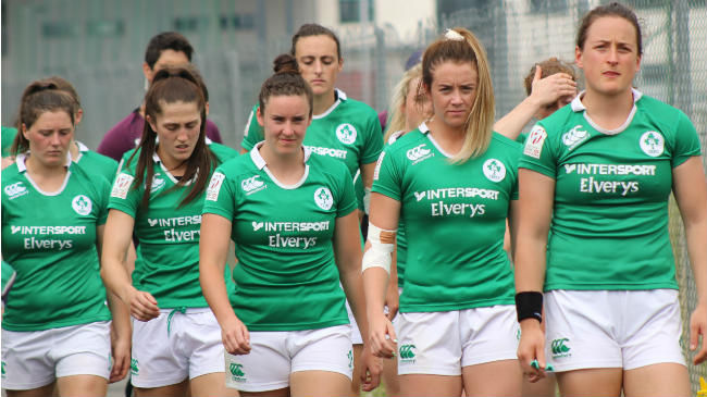 The Ireland Women finished second in their Kazan pool