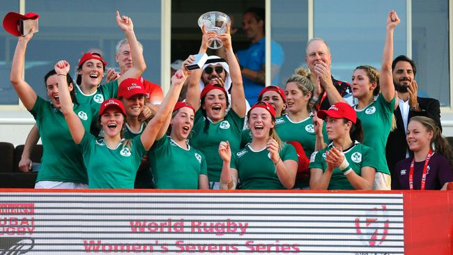 Ireland Women Win Challenge Trophy In Dubai