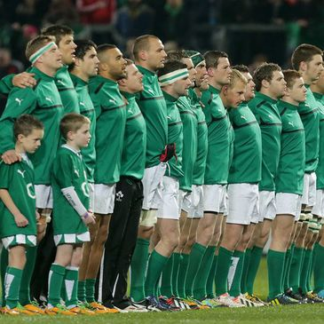 Jamie Heaslip captained the Ireland XV to victory against Fiji