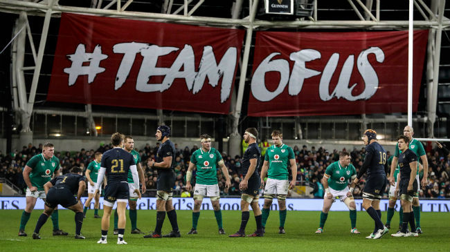 Ireland Squad Named For Opening Rounds Of NatWest 6 Nations