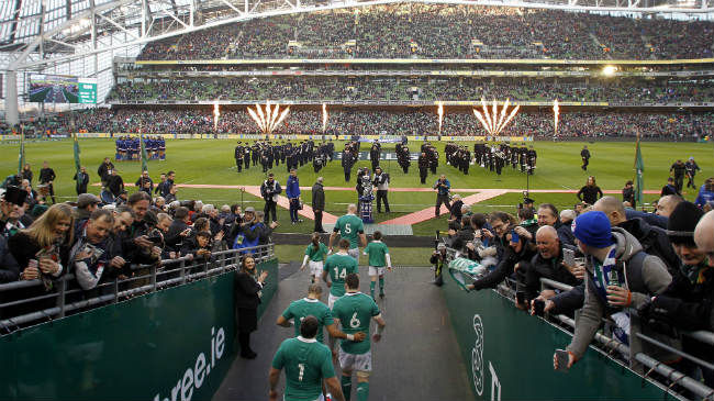 2018 GUINNESS Series Fixtures Confirmed
