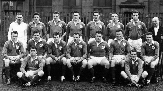 Irish Rugby Heroes Of Yore Grace YouTube