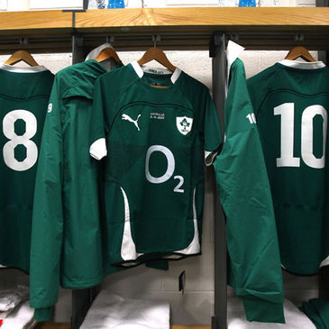 Inside the Ireland dressing room