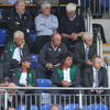 Declan Kidney and the rest of the Ireland management team were interested spectators in the Donnybrook stand