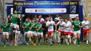Rugby Europe Men's Sevens Grand Prix Series - Round 2, Miejski Stadium, Lodz, Poland, June 10-11, 2017