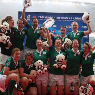 The Ireland Women's Sevens squad