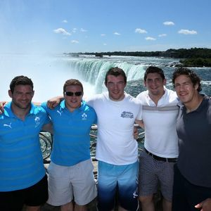 Ireland Players Visit Niagara Falls, Ontario, Canada, Wednesday, June 12, 2013