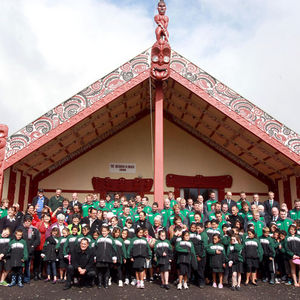 Ireland Squad's Arrival In New Plymouth/Welcome In Waitara, New Zealand, Thursday, September 8, 2011