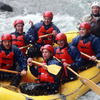 Rory Best, Paddy Wallace, Sean O'Brien, Shane Jennings and Isaac Boss also paddled their way through the rapids