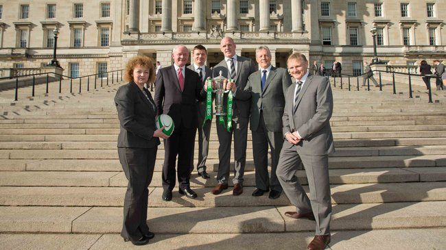 Ireland's Six Nations Winners Hosted At Stormont