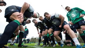 Ireland Training Session At Carton House, Maynooth, Co. Kildare, Friday, February 5, 2016