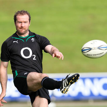 Geordan Murphy will captain the Ireland side in Rotorua