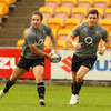 Flanker David Wallace, pictured alongside Tomas O'Leary, is fit to face the All Blacks after shaking off an ankle injury