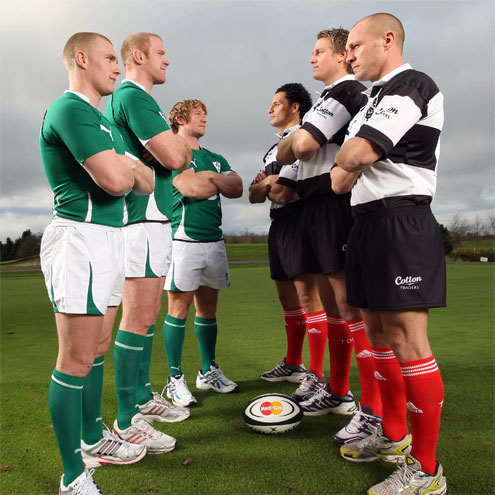 Ireland and the Barbarians will meet at Thomond Park