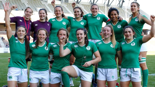 Ireland Women Win Challenge Trophy In Kitakyushu