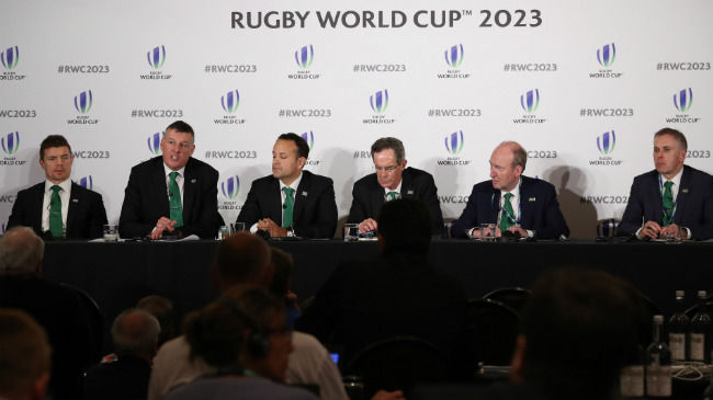 Beaumont Hails 'Impressive' Rugby World Cup 2023 Bid Presentations