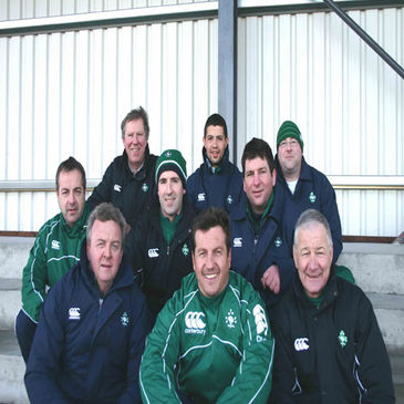 The Ireland Under-18 Clubs management team