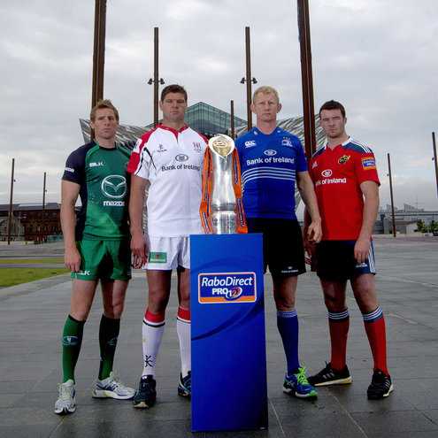 2013/14 RaboDirect PRO12 Season Launch In Belfast, Tuesday, August 27, 2013