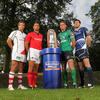 Chris Henry, Doug Howlett, Gavin Duffy and Shane Horgan were on hand to represent their respective provinces at the RaboDirect PRO12 launch