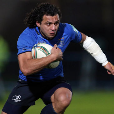 Isa Nacewa in action for Leinster