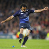 Leinster fell behind to an early Ronan O'Gara penalty, but Isa Nacewa kicked them level in the 24th minute
