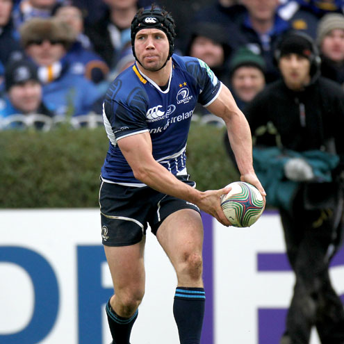 Leinster scrum half Isaac Boss