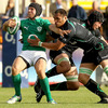 Ireland Select XV scrum half Isaac Boss drew praise from Les Kiss afterwards for his busy 47-minute shift