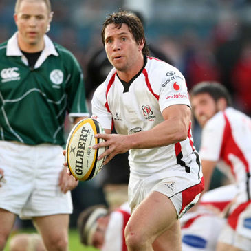 Isaac Boss in action for Ulster