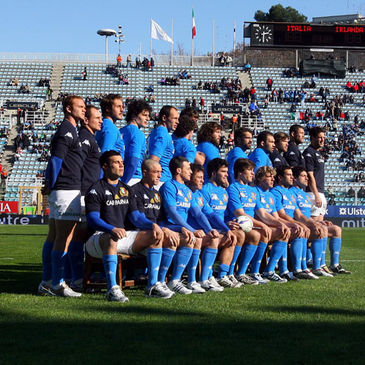The Italian squad that played Ireland last year