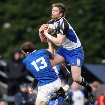 Cork Con's Ivan Dineen in action against St. Mary's