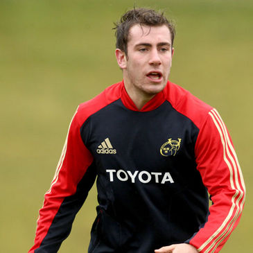 Munster's JJ Hanrahan has been moved onto a Development contract