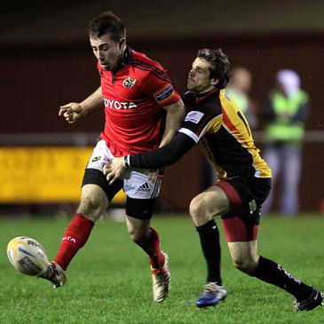 JJ Hanrahan will start at inside centre for Munster 'A'