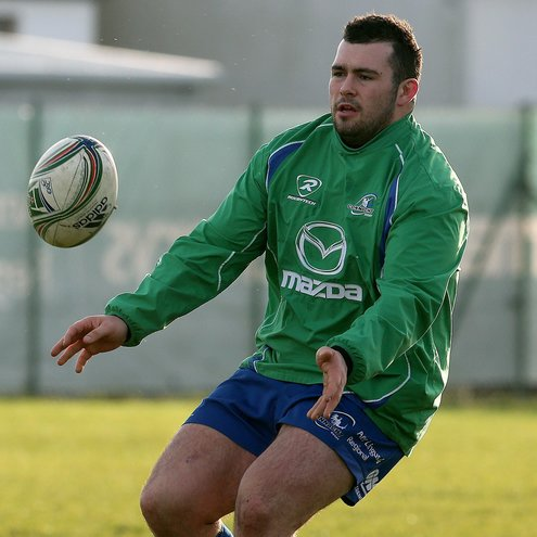 Connacht prop JP Cooney