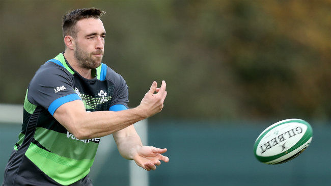 Leinster and Ireland's Jack Conan