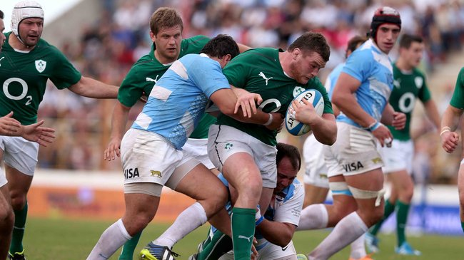 Argentina 17 Ireland 29, Estadio Centenario, Resistencia, Saturday, June 7, 2014