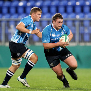 Jack McGrath in action for the Leinster 'A' side