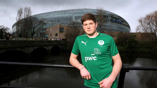 Ireland Under-20 captain Jack O'Donoghue