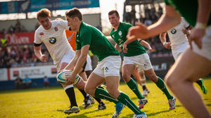 Ireland Under-18 Schools XV 14 England Under-18s 30, Wronki, Poland, Saturday, April 19, 2014