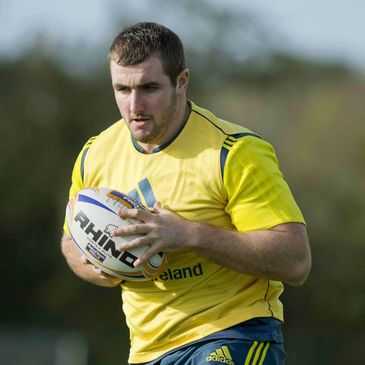 Munster hooker James Cronin