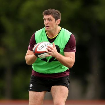 James Downey will win his first cap for Ireland