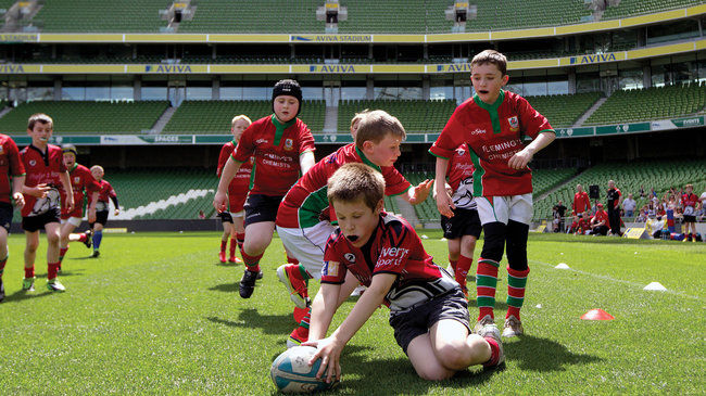 Irish Rugby TV: Aviva Mini Rugby Festival
